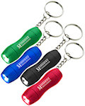 Mini Aluminum LED Light Keychains